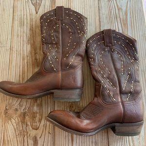 Frye cowboy boots